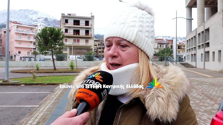 Η Ζηνοβία...χιόνισε τη Βοιωτία