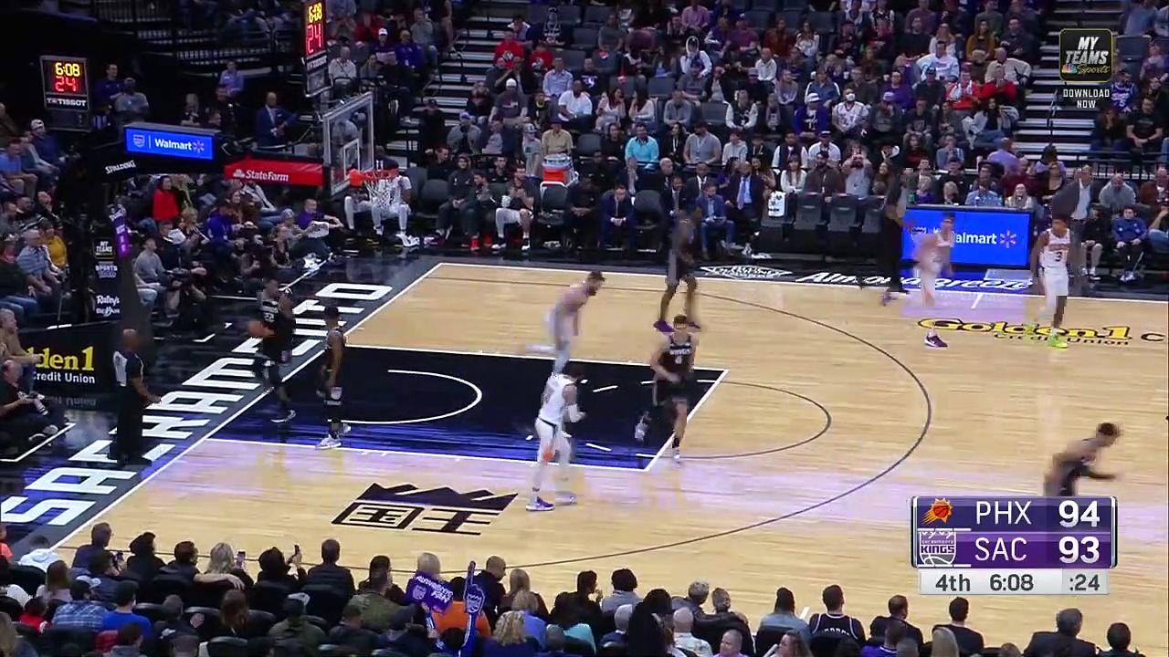 Phoenix Suns 112 - 110 Sacramento Kings