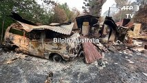 Town ravaged by bushfires as Australia braces for elevated fire danger