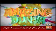Amazing Dunya | ARY News | 29 Dec 2019