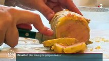 Des blocs de foie gras gorgés d'eau