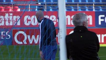 Pros - le point avec le coach F. Ciccolini lors de la reprise de l'entrainement !