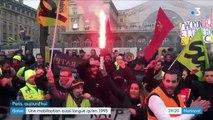 Le mouvement de grève contre les retraites a désormais dépassé en durée celui qui avait touché la France en 1995