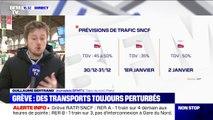 Grève: 1 TGV sur 2, 4 TER sur 10 et 1 Intercités sur 4 circuleront lundi
