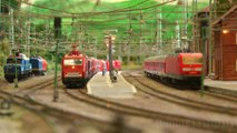 Professional Rail Transport Modeling with Push-Pull Trains and Helper Locomotives in HO Scale - Video by Pilentum Television about rail transport modeling, trains, model railroading, railway modelling, model railways and model railroads