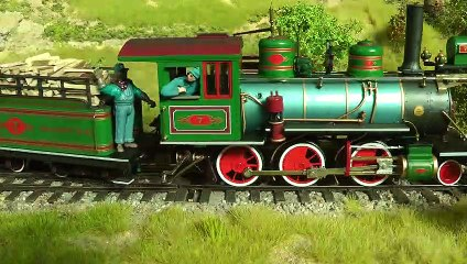 On3 Narrow Gauge Model Railroad Layout and Trains of the Diamond and Caldor Railway - Video by Pilentum Television about rail transport modeling, trains, model railroading, railway modelling, model railways and model railroads