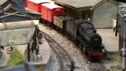 """British Railway Modelling at its best: The superb """"Abergavenny Brecon Road"""" 00 Gauge Layout at the Warley Model Railway Show - Video by Pilentum Television about rail transport modeling, trains, model railroading, railway modelling and model railways"""