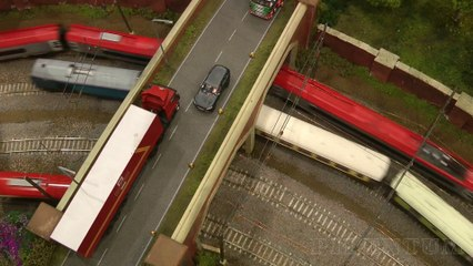 """Model Railway Layout """"Weaver Hill"""" in OO Gauge by Benjamin Brady and Richard Brady - Video by Pilentum Television about rail transport modeling, trains, model railroading, railway modelling, model railways and model railroads"""