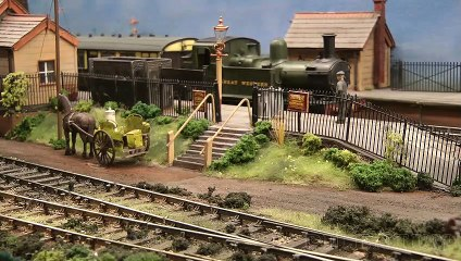 Cranmore Railway Station - Model Train Layout by Eric Mines - Video by Pilentum Television about rail transport modeling, trains, model railroading, railway modelling, model railways and model railroads