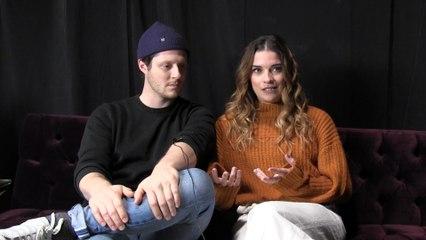 'Schitt's Creek' stars on the emotional end