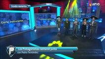 Los protagonistas cantaron junto con Pedri Fernández | Azteca Deportes