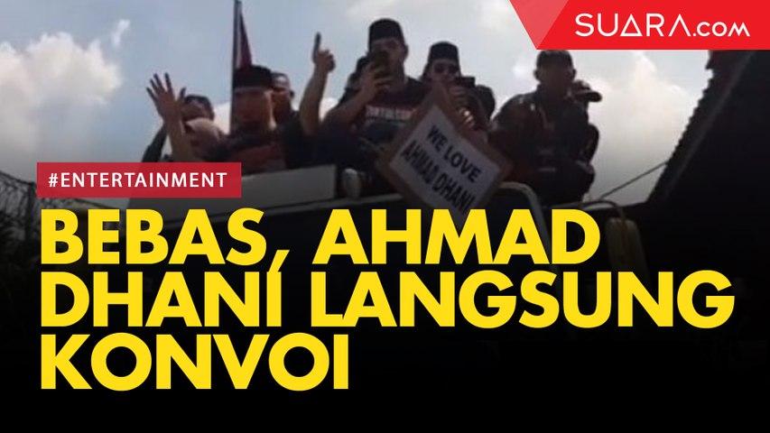 Bebas dari Penjara, Ahmad Dhani Langsung Konvoi