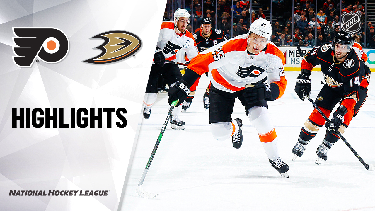 NHL Highlights | Flyers @ Ducks 12/29/19