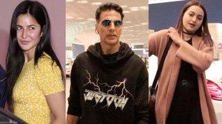 Akshay Kumar, Katrina Kaif, Sonakshi Sinha | Stars Leave For Their Vacation