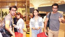 RanbirKapoor & AliaBhatt fly to Bankok for celebrating NewYear