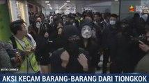 Demonstran Hong Kong Kecam Praktik Impor Tiongkok