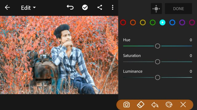Lightroom Orange Tone Photo Editing 2020 lightroom background change colour change editing