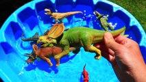 Dinosaurs Toys for Kids, Dinosaurs Learn Names Many Trex, Jurassic World Educational Video