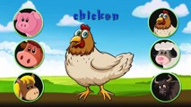Learn Fruits And ZOO Safari Animals with Fun Animation for Children