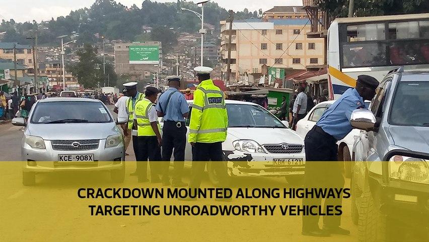Crackdown mounted along highways targeting unroadworthy vehicles