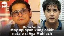 Robin Padilla, may opinyon kung bakit hindi nanalo si Aga Muhlach sa 2019 MMFF | PEP Hot Story