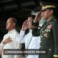 Lorenzana wants sanctions over doctored photo of surrendered rebels