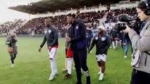 Partita di calcio di beneficenza per la Guinea