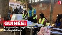 Guinée : l'opposition boycottera les législatives