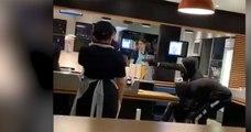 France: un braquage surréaliste filmé en direct par un client dans un McDonald's à Meyzieu