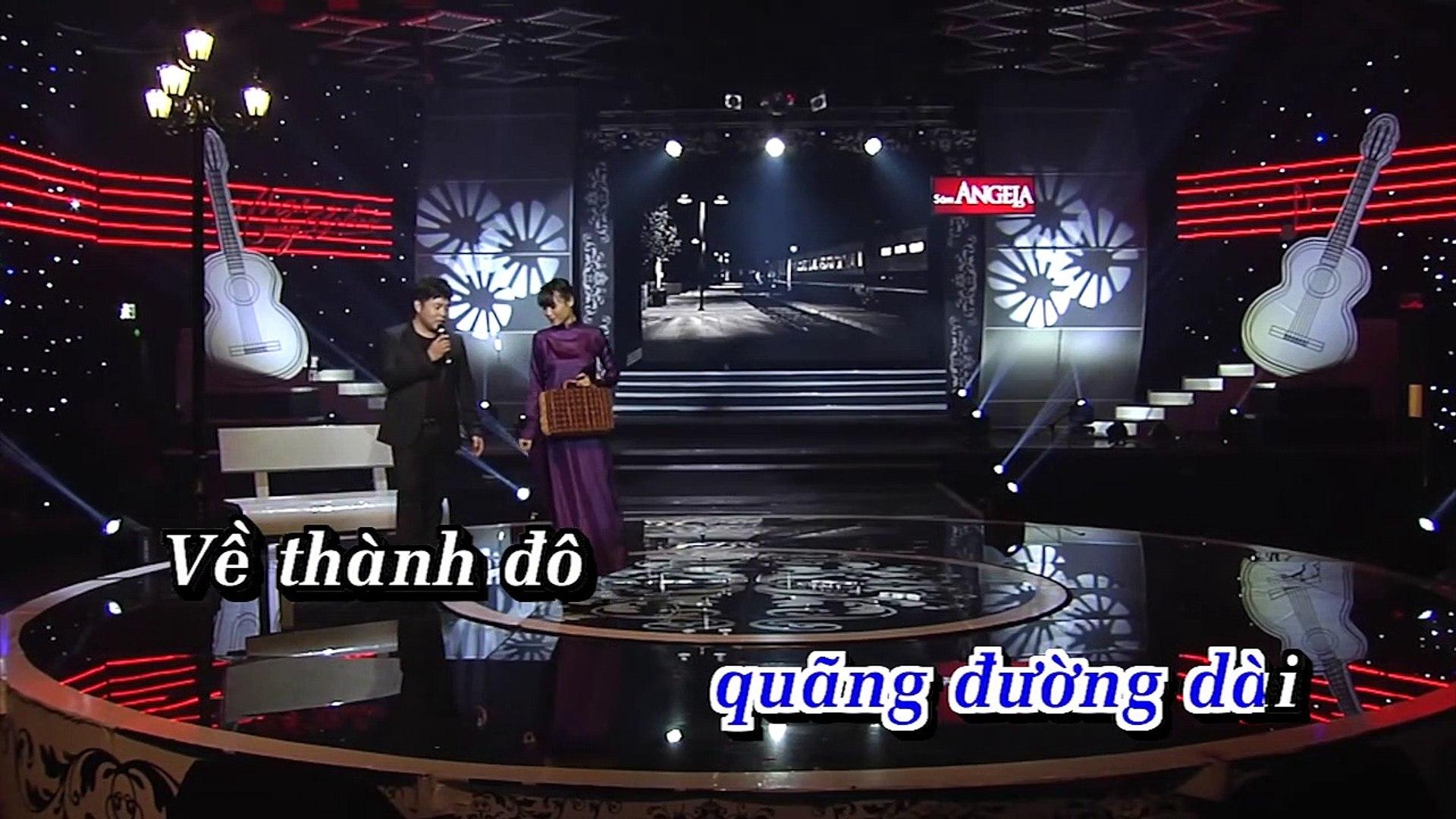 [Karaoke] Hoa Cài Mái Tóc - Quang Lê [Beat]