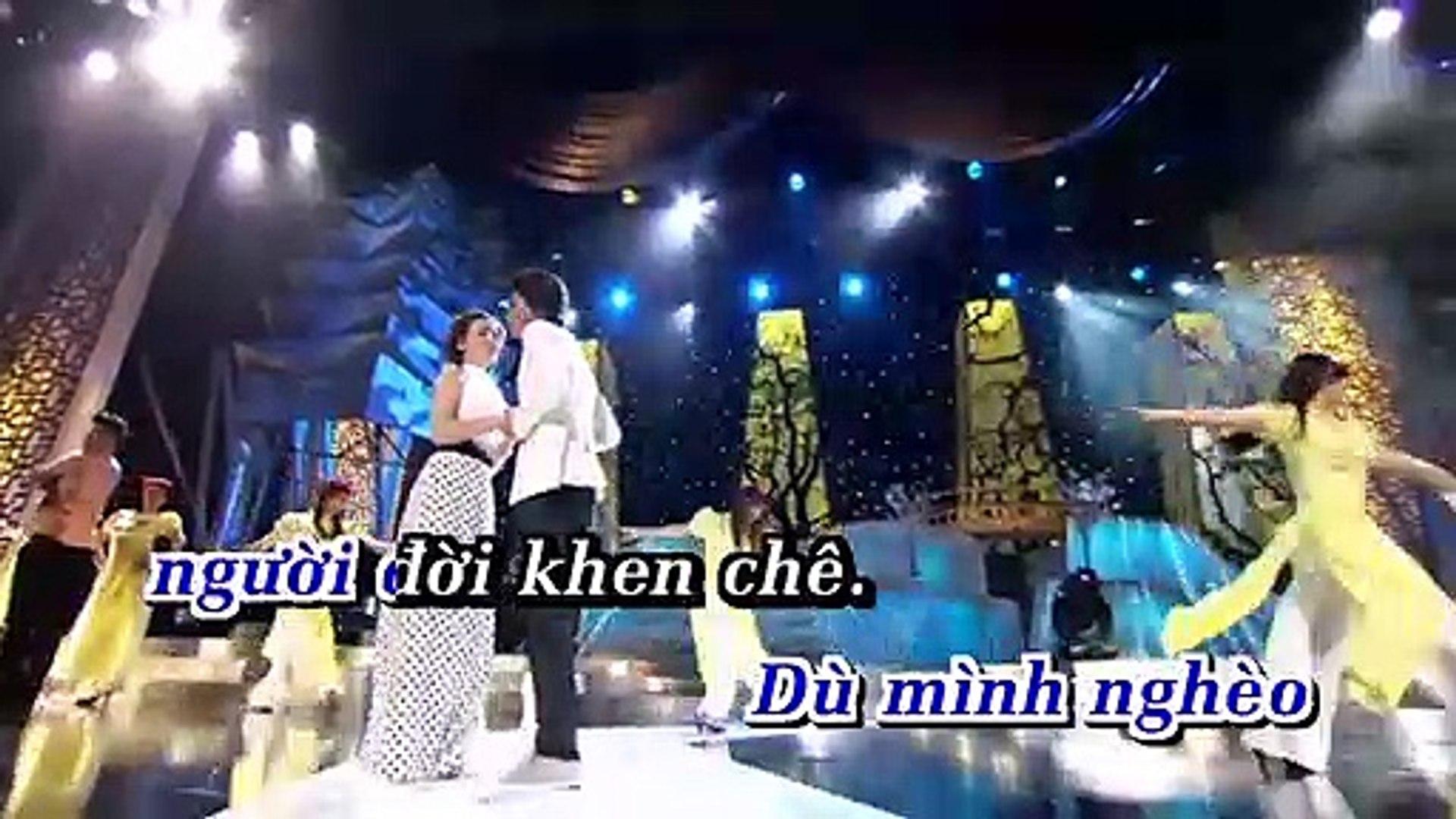 [Karaoke] Hoa Cài Mái Tóc - Cát Lynh Ft. Phạm Tuấn Ngọc [Beat]