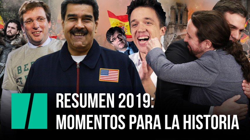 Momentos para la historia: resumen del año 2019