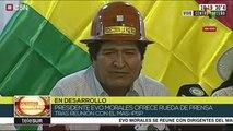 Evo Morales: ha quedado demostrado que no hubo fraude el 20-O