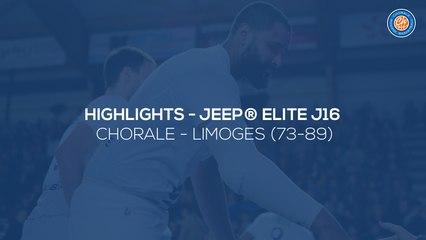 2019/20 Highlights Chorale - Limoges (73-89, JE J16)