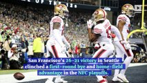 49ers Defeat Seahawks to Win NFC West and No. 1 Seed