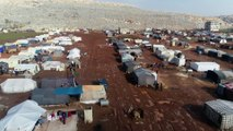 İdlib'den Türkiye sınırına yaklaşık 20 bin sivil daha göç etti - İDLİB