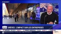 Grèves: l'impact sur les entreprises - 30/12