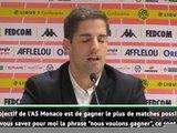 "Monaco: Moreno: ""Je préfère ne pas parler des objectifs"""