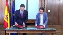 PSOE y Unidas Podemos alcanzaron acuerdo con miras a investidura de Sánchez