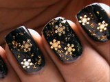 Snowflake Nail Art Designs _ How To Do