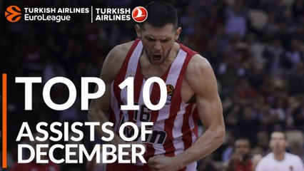 Top 10 Assists of December!
