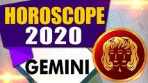 Gemini   Annual horoscope   Horoscope of  Gemini 2020 । 2020 Tarot Card PREDICTION  Oneindia News
