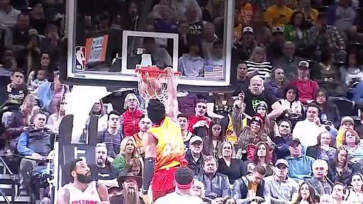 Detroit Pistons 81 - 104 Utah Jazz