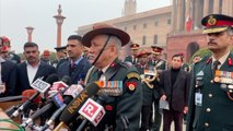 General Bipin Rawat speaks to the media  on demitting office as COAS