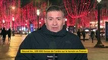 Un Nouvel An 2019 sous surveillance renforcée en France