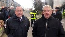 Besançon : incendie à la fourrière municipale