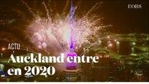 """""""Bonne année 2020 !"""" : la Nouvelle-Zélande fête déjà la nouvelle année"""