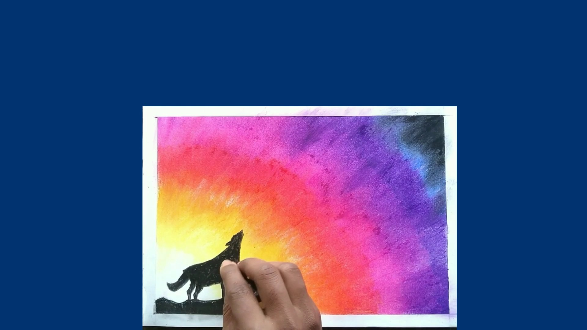 How to draw a animal/how to draw animal/how to draw/oil pastel drawing