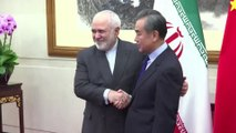 China says wants to strengthen ties to Iran
