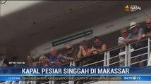Ribuan Wisatawan Asing Rayakan Malam Tahun Baru di Makassar